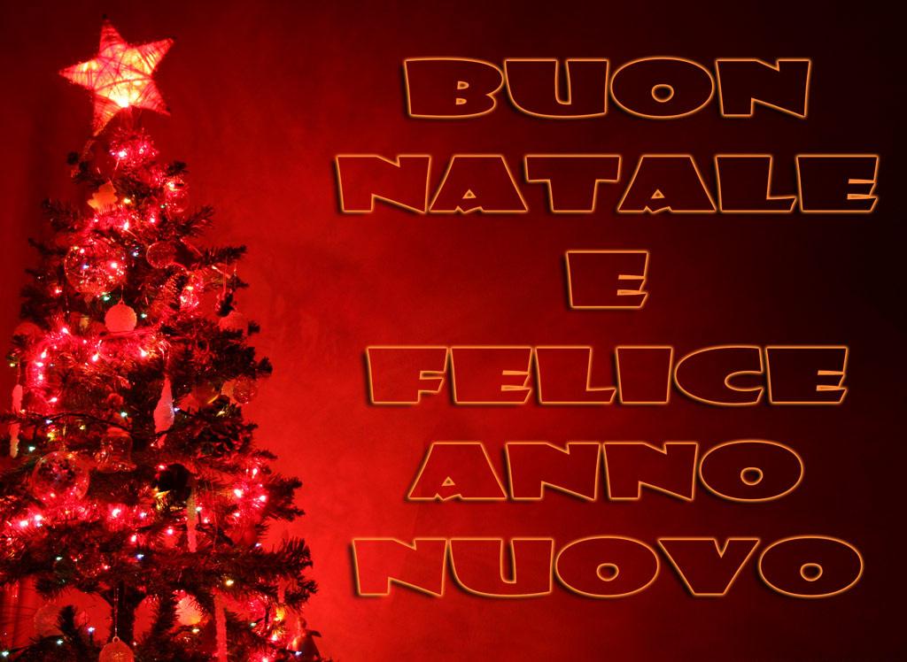 Auguri di un Santo Natale e di un Felice Anno Nuovo 2019