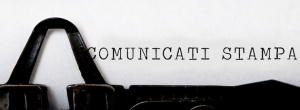 COMUNICAT0 STAMPA